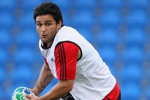 Piri Weepu gets the nod as starting halfback against France tomorrow night. Photo / Getty Images