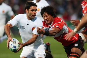 French halfback Dimitri Yachvili came in for some harsh criticism after the Japan match. Photo / Getty Images