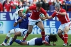 Jamie Roberts was in fine form during Wales' 17-10 defeat of Samoa in Hamilton on Sunday. Photo / Getty Images