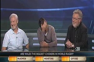 Andrew Mehrtens appears on TV3's  Cup Talk . Photo / Supplied