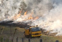 Authorities say high temperatures and strong winds mean that the risk of grass fires taking hold is significantly i