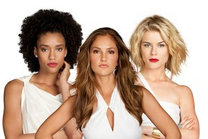 Thirty five years on, the remake of 70s TV show Charlie's Angels, featuring Annie Ilonzeh, Minka Kelly and Rachael Taylor, debuts on TV2, Wednesday at 9.30pm. Photo / Supplied
