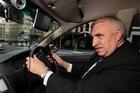 Romanian Taxi Driver Ion Caglaru. Photo / Richard Robinson.