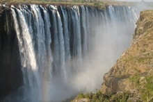 The Victoria Falls is one of the area's many attractions. Photo / Supplied