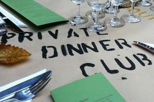 The Private Dinner Club is one organisation that formalises the concept of pop-up dinners. Photo / Supplied