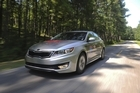 Kia Optima Hybrid 2011. Photo / Supplied