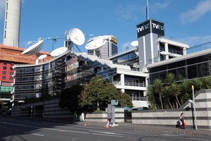 The TVNZ building. Photo / Doug Sherring