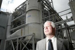 Ballance Agri-Nutrients CEO Larry Bilodeau. Photo / APN