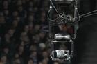 The overhead television camera - the spidercam. Photo / Paul Estcourt