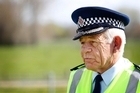 Less than a week ago Inspector Leo Tooman urged pedestrians to be more careful on roads. Photo / Christine Cornege