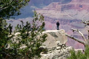 There are many viewpoints from which to survey the grandeur of the Grand Canyon. Photo / Megan Stunzher