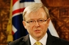 Kevin Rudd's taste for Vegemite caused a minor diplomatic incident. Photo / Greg Bowker