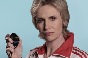Jane Lynch as Sue on 'Glee'. Photo / Supplied