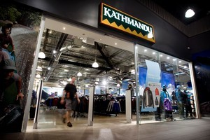 Kathmandu's store in Auckland's Sylvia Park shopping mall. Photo / Natalie Slade