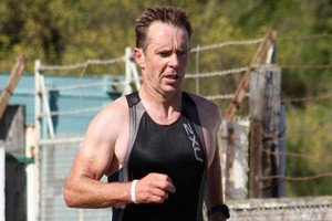 Oamaru triathlete Mike Sandri. Photo / APN