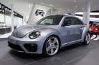 Large five-spoke 20-inch alloys look good on the Beetle R concept. Photo / Supplied