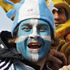 Argentina's fans arrive for a Rugby World Cup Pool B match against Romania at the Rugby Park stadium, Invercargill. Photo / Getty Images