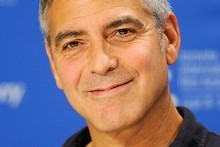 George Clooney has just got himself married - well, in a commercial anyway.