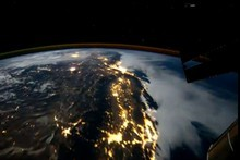 Fancy a flyover of earth? A time-lapse video collated from 600 images from the International Space Station can deliver just that. Photo / NASA
