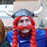 French fans dressed as ancient Gauls in Queen Street. Photo / Basher