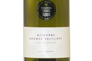 2010 Coopers Creek Gruner Veltliner Gisborne The Groover, $20. Photo / Supplied