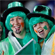 Irish fans cheer of their side during Saturday night's Rugby World Cup clash against Australia. Photo / Sarah Ivey