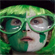 A young Irish fan is decked out in all the gear for their pool C match against Australia. Photo / Sarah Ivey
