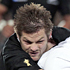 Richie McCaw pulls down the French defence. Photo / Sarah Ivey