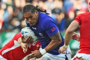 Samoa had to face Wales after playing Namibia midweek. Photo / Getty Images
