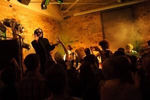 Super Villains perform at The Kingslander in Auckland. Photo / Nick Kingstone
