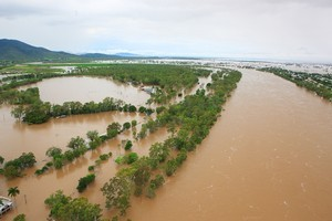 Flooding in Queensland. Photo / Getty Images