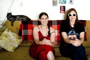 Street Chant's Billie Rogers and Emily Littler. Photo / Babiche Martens