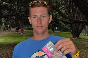 Charlie Smith was refused entry to the event with the ticket he purchased from Trademe. He had to purchase another ticket on the day to gain entry. Photo / Michael Craig