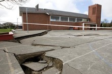The rebuilding and repairs from the Canterbury earthquake were driving the hiring increase. Photo / Mark Mitchell 