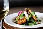 The Ponsonby Road Bistro's haloumi salad entree. Photo / Babiche Martebs