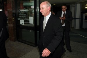 Rod Petricevic leaving the Auckland District Court last year. Photo / Dean Purcell.