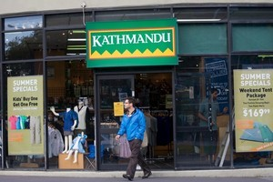 Kathmandu shares rose after strong sales for December and this month in Australia and New Zealand. Photo / Richard Robinson