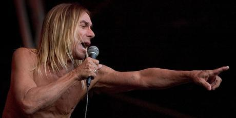 Iggy Pop, here on the main stage at the Big Day Out in 2006, has no intention of retiring any time soon. He's now aged 63. Photo / Richard Robinson