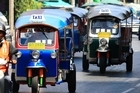 Walking is deemed 'no good' in Bangkok, but beware some tuk-tuk tourist tours. Photo / Martin Sykes