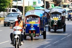Walking is deemed 'no good' in Bangkok, but beware some tuk-tuk tourist tours. Photo / Martin Sykes
