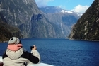 Milford Sound was one of the highlights on the cruise with Holland America's Volendam. Photo / Shandelle Battersby