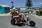 Fun bikes at Papamoa Beach Top 10. Photo / Supplied