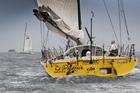 Brad Van Liew onboard his yacht Le Pengouin. Photo / Ainhoa Sanchez, w-w-i.com