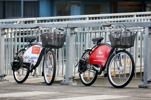 Auckland Transport is seeking proposals for a replacement public bicycle hire scheme to be established in time for the Rugby World Cup. Photo / Natalie Slade