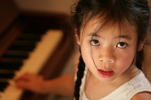 Amy Chua's anecdote about forcing her daughter to persevere at piano playing late into the night is a glimpse of a different cultural attitude. Photo / Thinkstock