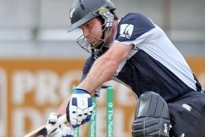 Black Caps batsman Jamie How. Photo / Getty Images