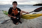 Kayaker Tim Taylor. Photo / Bay of Plenty Times