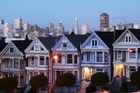 Full House-style houses in San Francisco. Photo / Thinkstock