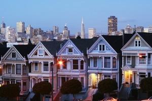 Full House-style houses in San Francisco. Photo / Thinkstock
