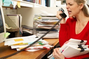 Suggested moods were predominantly shaped by work-related stress. Photo / Thinkstock